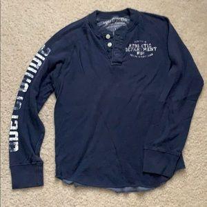 Abercrombie henley t-shirt